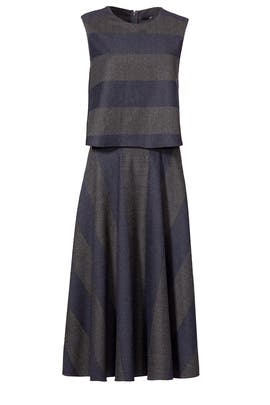 Alternastripe Dress by Tibi