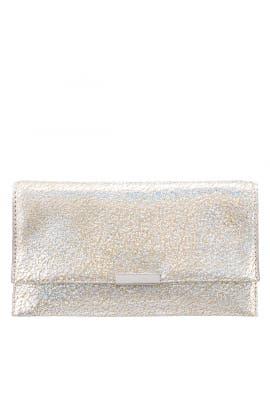Silver Tab Clutch by Loeffler Randall