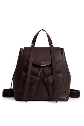 Bordeaux Darcy Large Backpack by AllSaints