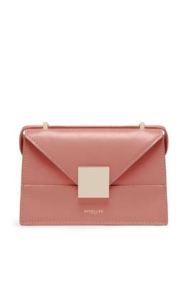 Deep Blush Mini Copenhagen Crossbody by DeMellier London