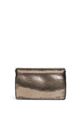 Champagne Clic Clac Clutch by Jerome Dreyfuss