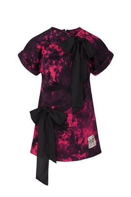 Kids Tie Dye Bow Dress by No. 21 Kids
