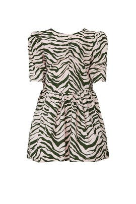 Kids Zebra Dress by Stella McCartney Kids