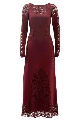 Plum Sami Dress by Temperley London