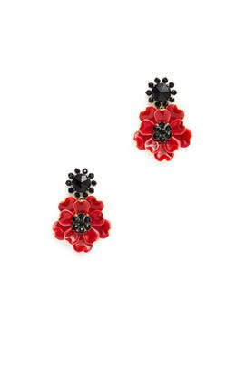 Precious Poppies Earrings by kate spade new york accessories