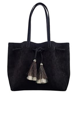 Eclipse Suede Drawstring Tote by Loeffler Randall