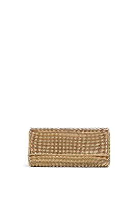 Pyramid Mesh Clutch by Whiting & Davis