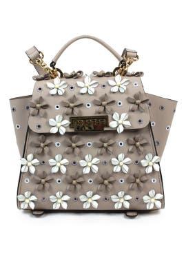 Cobblestone Eartha Top Handle Convertible Backpack by ZAC Zac Posen Handbags