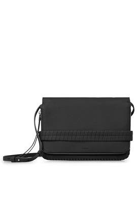 Black Club Clutch by AllSaints