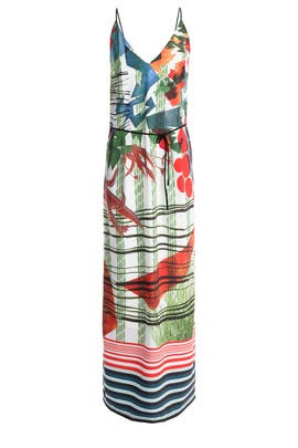 Modern Nomad Maxi Dress by Clover Canyon