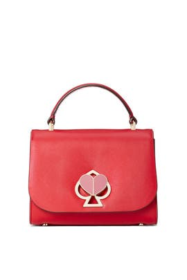 Hot Chili Nicola Twistlock Small Top Handle Bag by kate spade new york accessories