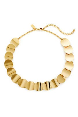 Gold Circle Necklace by kate spade new york accessories