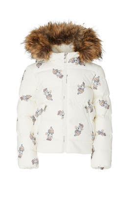 Kids Faux Fur Bear Puffer Jacket by Ralph Lauren Kids