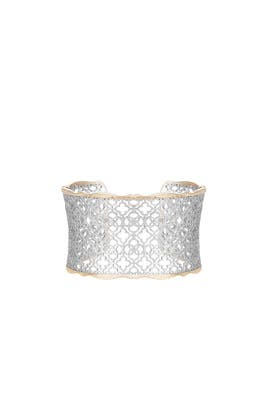 Silver Candice Cuff Bracelet by Kendra Scott