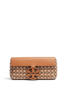 Miller Leather Chainmail Clutch by Tory Burch Accessories