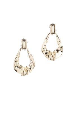 Crumple Dangling Earrings by Alexis Bittar