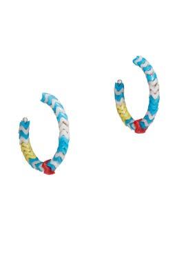 Lihue Hoop Earrings by Dannijo