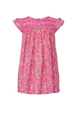Kids Pink Printed Dress by No. 21 Kids