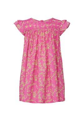 Kids Pink Printed Dress by No. 21 Kids