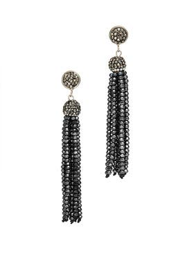 Studded Tassel Earrings by Turkish Delight
