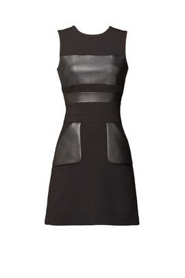 Panel Mini Dress by David Koma