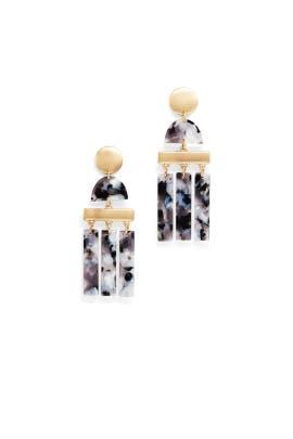 Triple Drop Resin Earrings by Slate & Willow Accessories