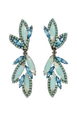 Lapis Dragonfly Earrings By Elizabeth Cole