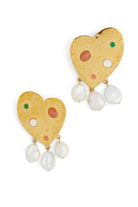 Divina Earrings by Lizzie Fortunato