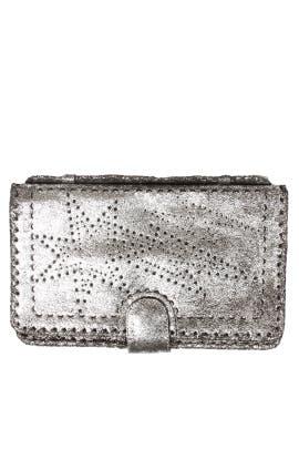 Silver Starburst Clutch by Cleobella Handbags