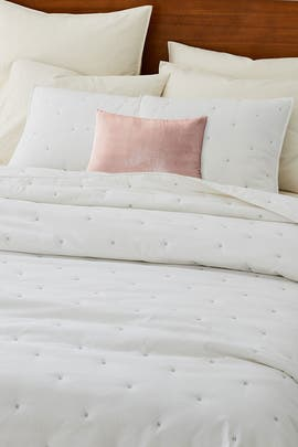 Full/Queen Organic Washed Cotton Bedding Bundle by West Elm