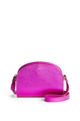 Fuschia Sac Demi-Lune Mini Bag by A.P.C Accessories