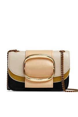 Beige Hopper Shoulder Bag by See by Chloe Accessories