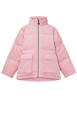 Kids Corduroy Puffer Coat by Stella McCartney Kids