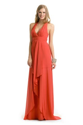 d651862f96 Coral Halter Gown by Nicole Miller for  81