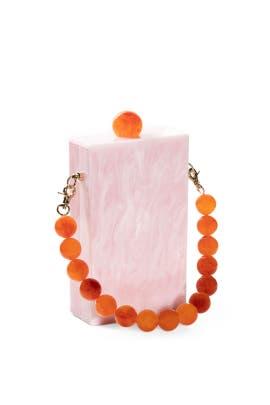 Rose Quartz Evening Bag by Lele Sadoughi