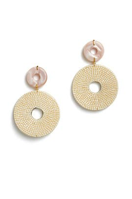 Soleil Earrings by Lizzie Fortunato