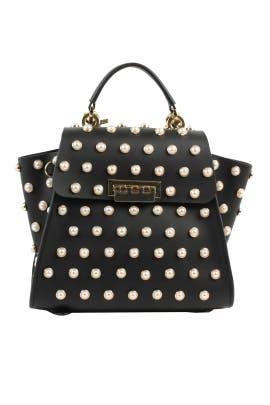 Pearl Lady Eartha Iconic Convertible Backpack by ZAC Zac Posen Handbags