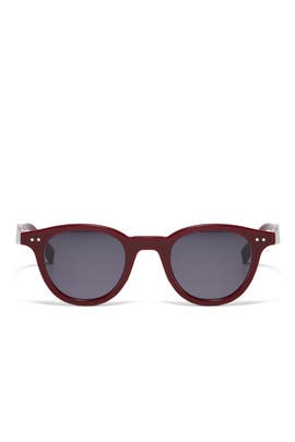 Opal Burgundy Sunglasses by Céline