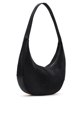 60b1bf0be9ac Black Suede Zoe Hobo by Elizabeth and James Accessories for  111 ...