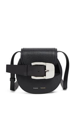 Black Buckle Mini Crossbody by Proenza Schouler Handbags