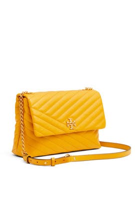 Kira Chevron Flap Shoulder Bag by Tory Burch Accessories