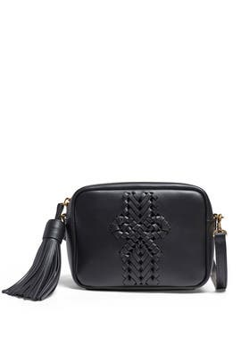 Black Tassel Neeson Crossbody Bag by Anya Hindmarch