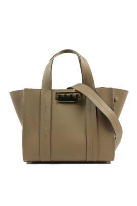 Tan Eartha Iconic Shopper by ZAC Zac Posen Handbags