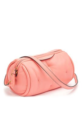 Pink Chubby Barrel Crossbody by Anya Hindmarch