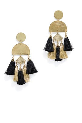 Bali Tassel Earrings by Area Stars