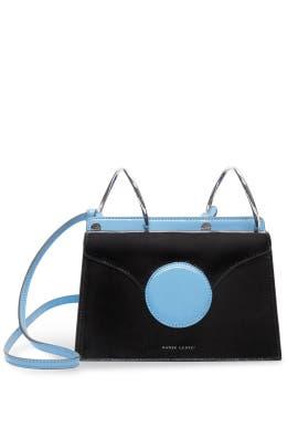 Black Mini Phoebe Bag by Danse Lente