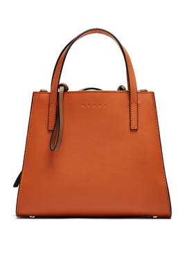 Two Tone Leather Tote by Marni Accessories