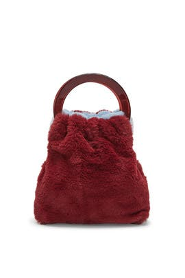 Sky Burgundy Alpine Bag by Lizzie Fortunato
