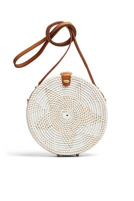 White Williamsburg Bag by Cleobella Handbags