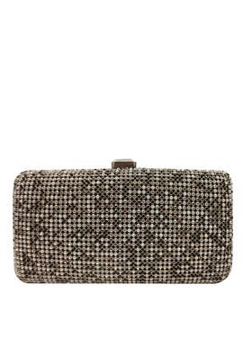 Gold Multi Crystal Clutch by Sondra Roberts